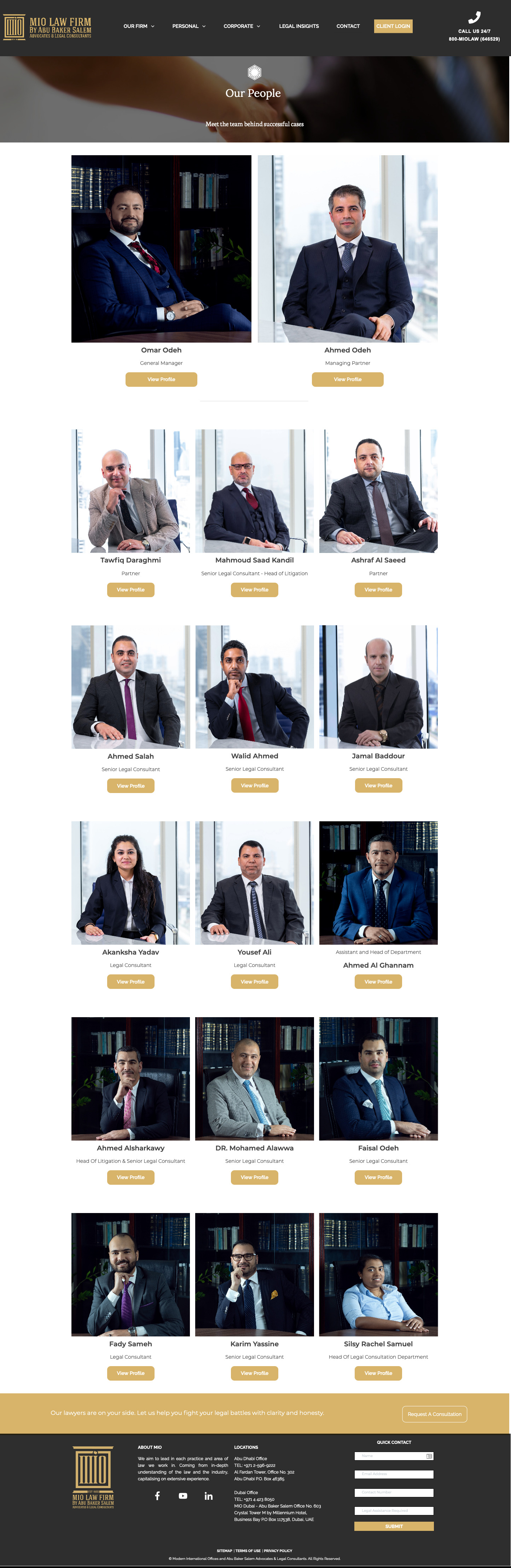 v7 digital client MIO law firm